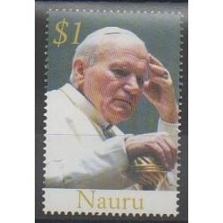 Nauru - 2005 - Nb 542 - Pope