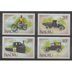 Nauru - 1986 - Nb 315/318 - Transport
