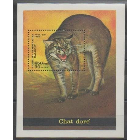 Madagascar - 1986 - No BF35 - Chats