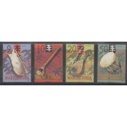Macédoine - 2003 - No 265/268 - Musique