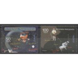 Macédoine - 2009 - No 485/486 - Astronomie - Europa