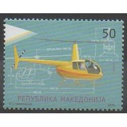 Macédoine - 2010 - No 515 - Hélicoptères
