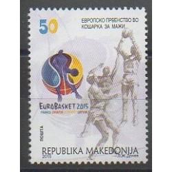 Macedonia - 2015 - Nb 704 - Various sports