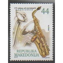 Macédoine - 2015 - No 700A - Musique