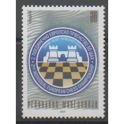 Macédoine - 2001 - No 227 - Échecs