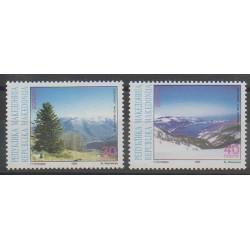 Macédoine - 1999 - No 161/162 - Arbres - Europa