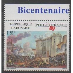 Gabon - 1988 - No 647 - Révolution Française