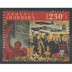 Armenia - 2015 - Nb 812 - Various Historics Themes