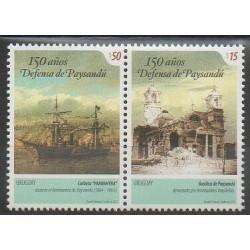 Uruguay - 2015 - Nb 2718/2719 - Various Historics Themes