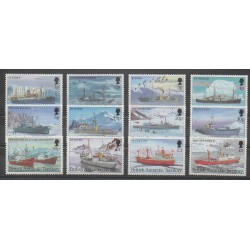 British Antarctic Territory - 1993 - Nb 233/234 - Boats - Polar