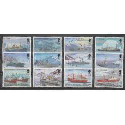 Grande-Bretagne - Territoire antarctique - 1993 - No 233/234 - Navigation - Polaire