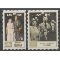 Grande-Bretagne - Territoire antarctique - 1990 - No 191/192 - Royauté - Principauté
