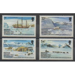Grande-Bretagne - Territoire antarctique - 1985 - No 144/147 - Polaire