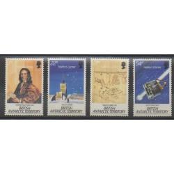 Grande-Bretagne - Territoire antarctique - 1986 - No 152/155 - Astronomie