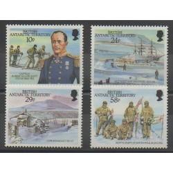 Grande-Bretagne - Territoire antarctique - 1987 - No 160/163 - Polaire