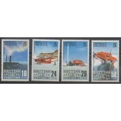 Grande-Bretagne - Territoire antarctique - 1988 - No 168/171 - Polaire - Transports