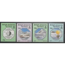 Grande-Bretagne - Territoire antarctique - 1987 - No 164/167 - Polaire - Sciences et Techniques