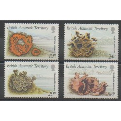 British Antarctic Territory - 1989 - Nb 172/175 - Sea animals