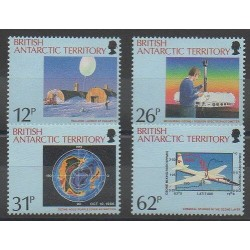 British Antarctic Territory - 1991 - Nb 197/200 - Environment