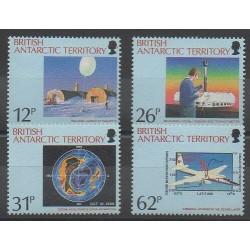 Grande-Bretagne - Territoire antarctique - 1991 - No 197/200 - Environnement