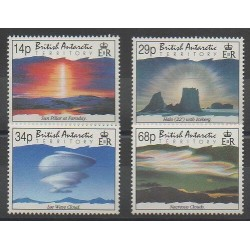 British Antarctic Territory - 1992 - Nb 219/222 - Polar