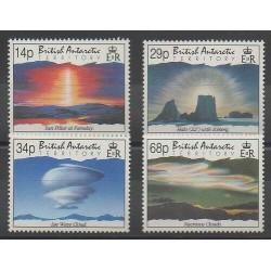 Grande-Bretagne - Territoire antarctique - 1992 - No 219/222 - Polaire