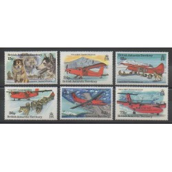 Grande-Bretagne - Territoire antarctique - 1994 - No 235/240 - Polaire - Aviation