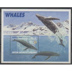 Grande-Bretagne - Territoire antarctique - 1996 - No BF3 - Animaux marins - Mammifères