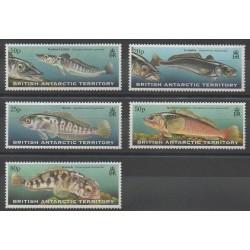 Grande-Bretagne - Territoire antarctique - 1999 - No 302/306 - Animaux marins