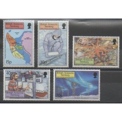 British Antarctic Territory - 1999 - Nb 307/311 - Polar - Science