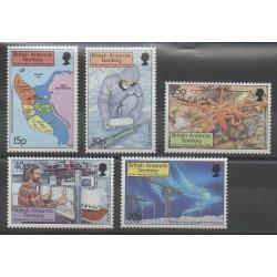 Grande-Bretagne - Territoire antarctique - 1999 - No 307/311 - Polaire - Sciences et Techniques