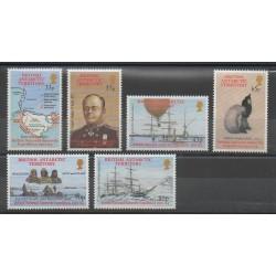 Grande-Bretagne - Territoire antarctique - 2001 - No 333/338 - Polaire
