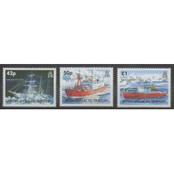 British Antarctic Territory - 2005 - Nb 396/398 - Boats - Polar