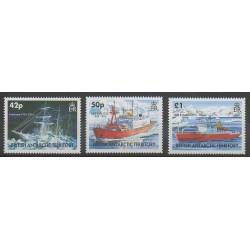 Grande-Bretagne - Territoire antarctique - 2005 - No 396/398 - Navigation - Polaire