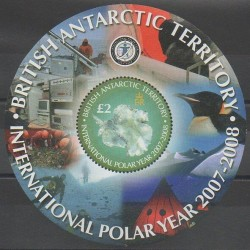 Grande-Bretagne - Territoire antarctique - 2007 - No BF12 - Polaire