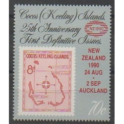 Cocos (Island) - 1990 - Nb 222 - Stamps on stamps