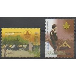 Macédoine - 2007 - No 415/416 - Scoutisme - Europa