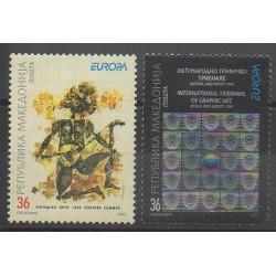Macédoine - 2003 - No 271/272 - Art - Europa