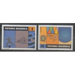Macedonia - 2002 - Nb 248/249 - Circus - Europa