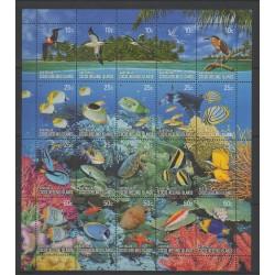 Cocos (Iles) - 2006 - No 405/424 - Reptiles - Animaux marins - Oiseaux