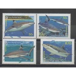 Cocos (Iles) - 2005 - No 401/404 - Animaux marins