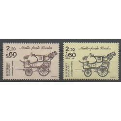 France - Poste - 1986 - No 2410/2411 - Poste