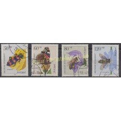 West Germany (FRG) - 1984 - Nb 1034/1037 - Insects - Used