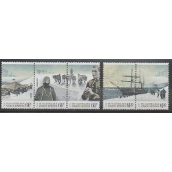 Australian Antarctic Territory - 2012 - Nb 200/204 - Polar - Boats