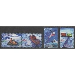 Australian Antarctic Territory - 1998 - Nb 115/118 - Transport - Helicopters