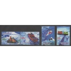 Australie - territoire antarctique - 1998 - No 115/118 - Transports - Hélicoptères