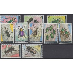 Rwanda - 1978 - Nb 828/837 - Insects