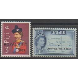 Fidji - 1963 - No 170/171 - Royauté - Principauté