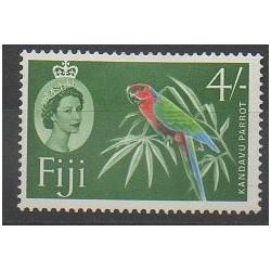 Fidji - 1961 - No 166A - Oiseaux - Neuf avec charnière