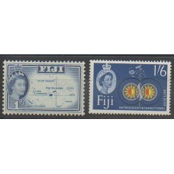 Fiji - 1961 - Nb 163/164